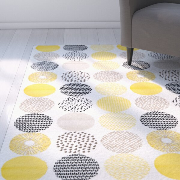 Maryrose Cream Area Rug by Zipcode Design
