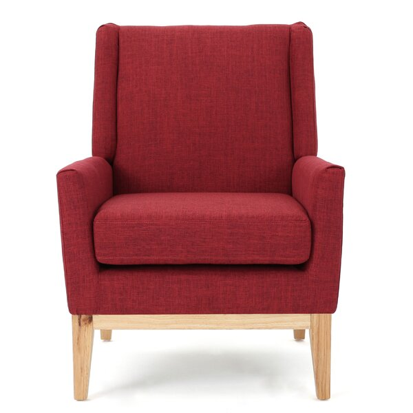 Thierry Wingback Armchair by Langley Street