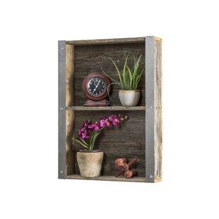 Affordable Industrial Reclaimed Wall Shelf ByDel Hutson Designs