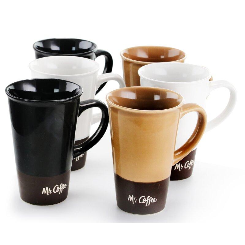 Mr Coffee Cafe Zortea 16 Oz 6 Piece