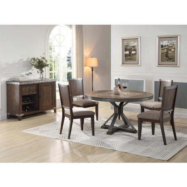 New Ashford 5 Piece Dining Set by Millwood Pines Millwood Pines