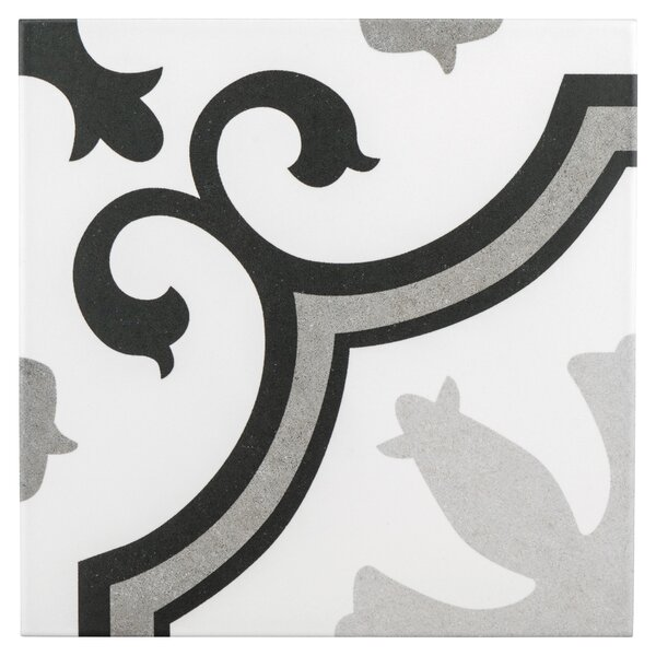Matteo 9.75 x 9.75 Porcelain Field Tile in Gray by EliteTile