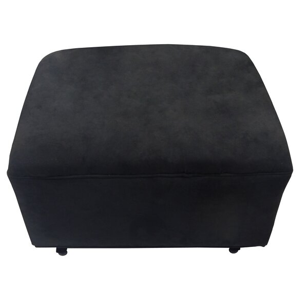 Russett Ottoman by Charlton Home