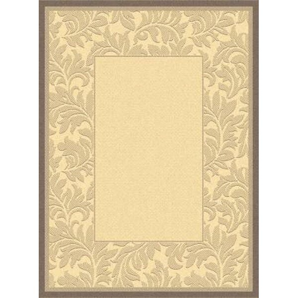 Fenmore Natural/Brown Indoor/Outdoor Area Rug by Charlton Home