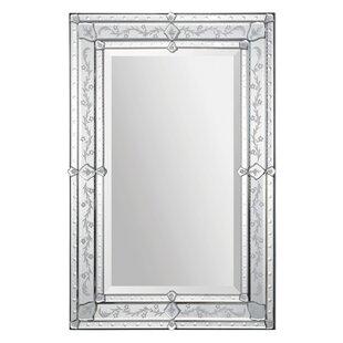 Rosdorf Park Modern Rectangle Framed Wall Mirror