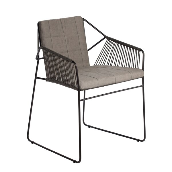 Sandur Patio Dining Chair with Cushion by OASIQ