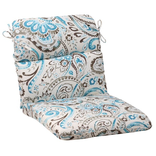 Paisley Indoor/Outdoor Chair Cushion by Pillow Perfect