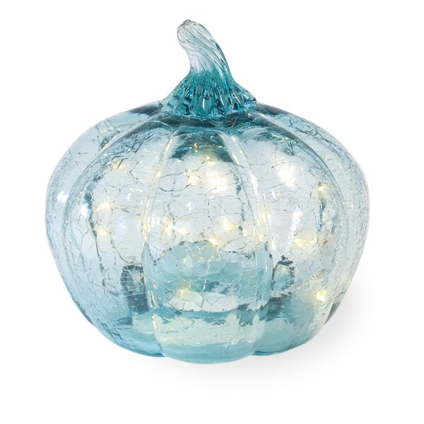 Azure Crackle Pumpkin by The Holiday Aisle