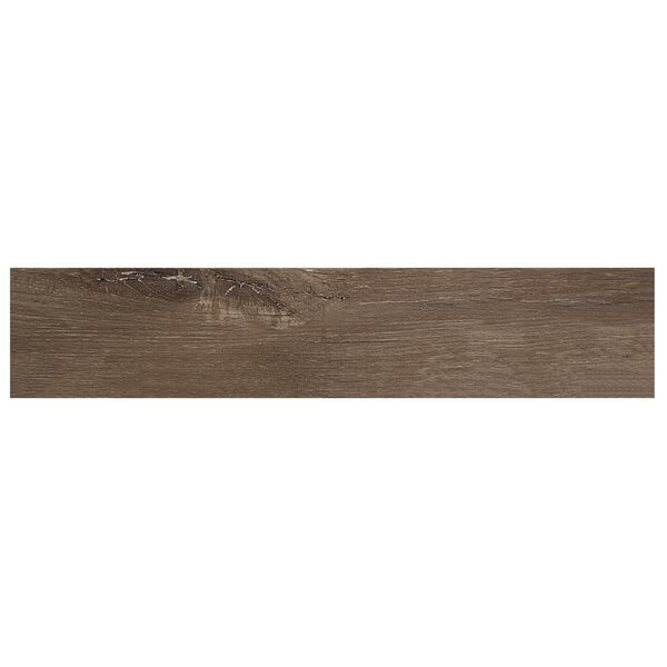 8 x 48 Porcelain Field Tile in Terrace Brown by Urban Forest