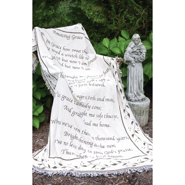 Amazing Grace 2 Layer Cotton Throw by Manual Woodworkers & Weavers