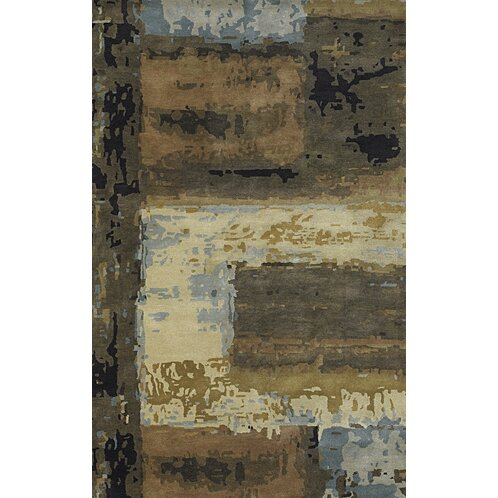 Dawnridge Modern Wool Area Rug by Bloomsbury Market