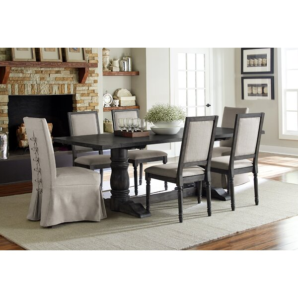 Sandown 7 Piece Dining Set by Three Posts