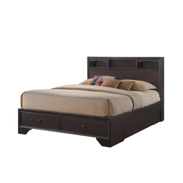 Overmere King Solid Wood Storage Platform Bed by Red Barrel Studio