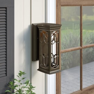 Best Hardwick 1-Light Outdoor Wall Lantern By Darby Home Co