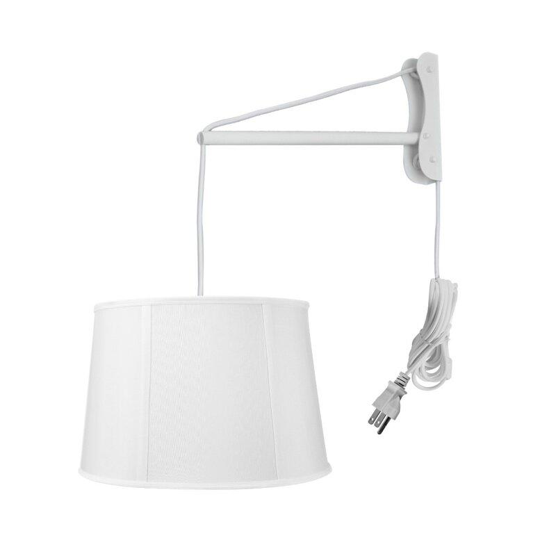 Wall Mount 1 Light Swing Arm Lamp