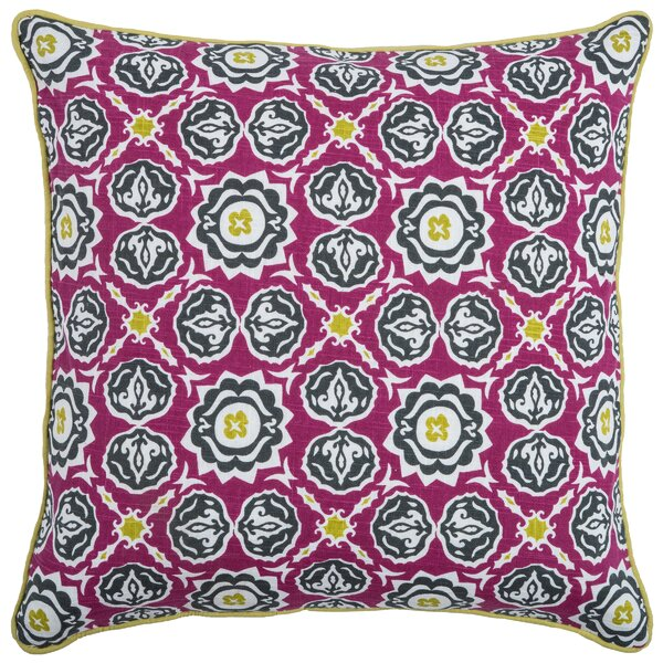 Chasadie Cotton Throw Pillow by Wildon Home ®