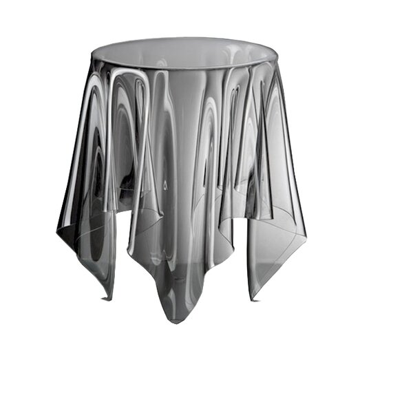 Bruss Ghost Accent Stool by Orren Ellis