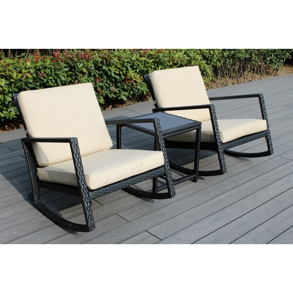 Eita 3 Piece Seating Group with Cushions by Breakwater Bay