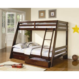 Shop for Mullin Twin over Full Bunk Bed with Storage By Wildon Home ®