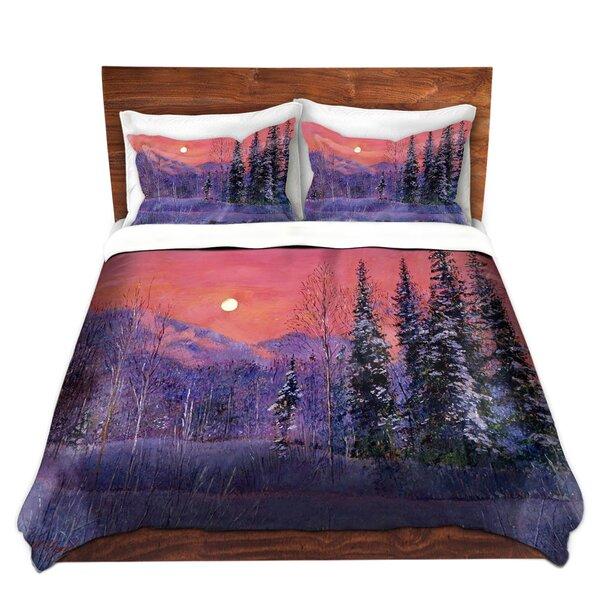 Rising Snow Moon Duvet Cover Set