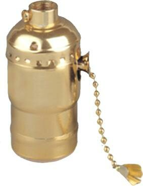 On - off Pull Chain Lamp Holder by Morris Products