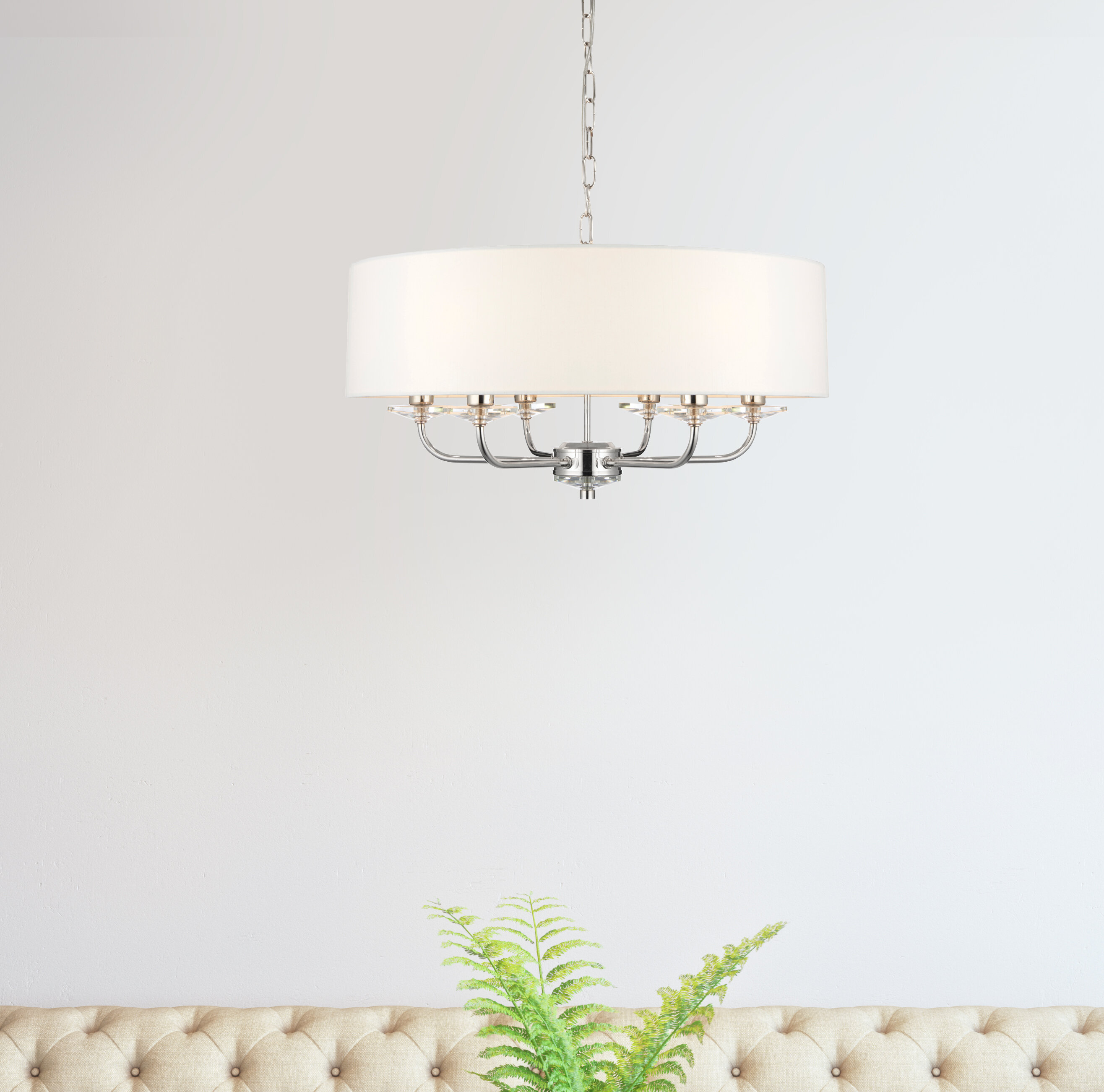 white light chrome cfm morocco and detailed linen image steven shade inch ceiling chris shown wide glass large item drum pendant in finish magnifying