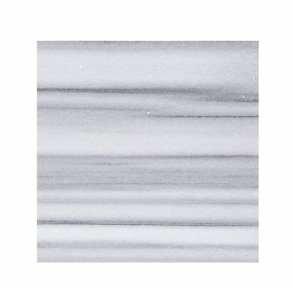 Horizon Marble 18 x 18 Stone  Tile in White Polished by Parvatile