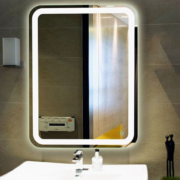 Hanlin LED Lighted Vanity Wall Mirror