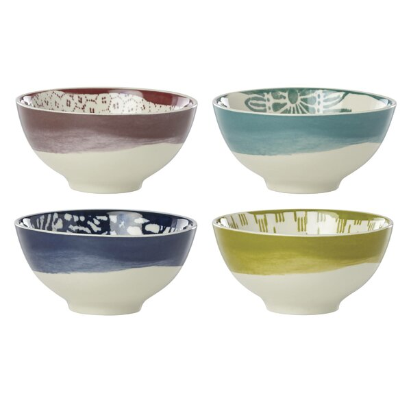 Market Place Assorted 4 Piece Dessert Bowl Set by Lenox