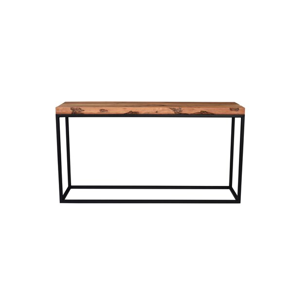 Westerberg Trim Live Edge Console Table By Loon Peak