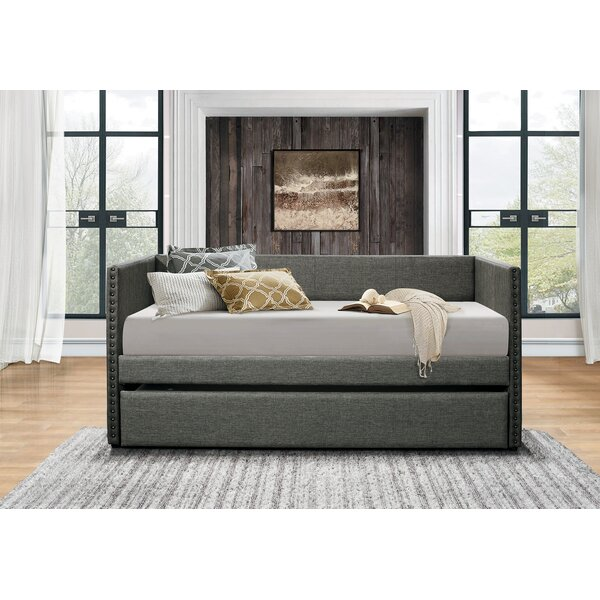Stowe Daybed with Trundle by Ebern Designs