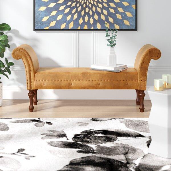 Escalera Upholstered Bench by Willa Arlo Interiors