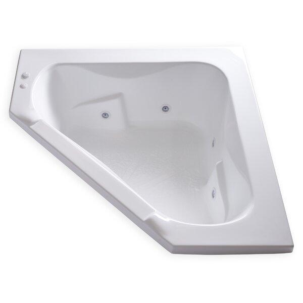 Hygienic Aqua Massage 60 x 60 Whirlpool Bathtub by Carver Tubs