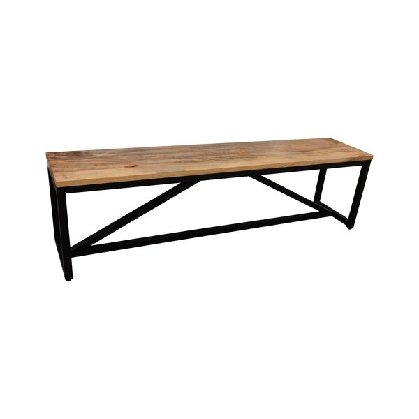 Shery Wood/Metal Bench by Union Rustic