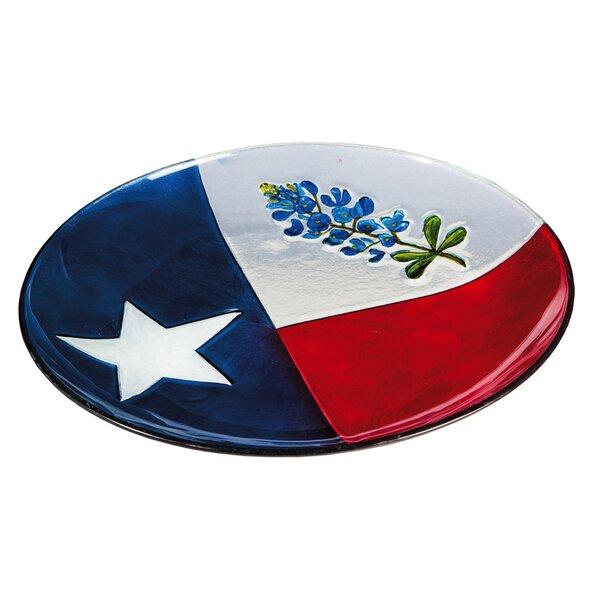 Texas State Flower Birdbath by Evergreen Flag & Garden