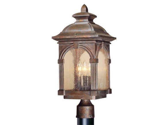Browner Outdoor 3-Light Lantern Head by Fleur De Lis Living