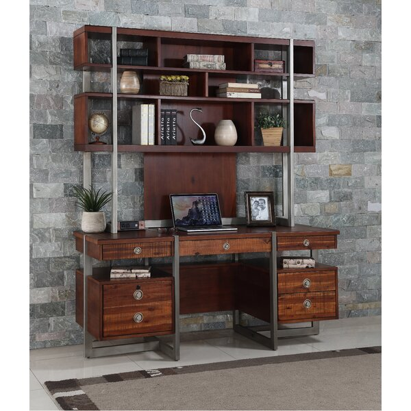 Kyros Executive Desk With Hutch by Wrought Studio