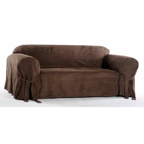 Chic Box Cushion Sofa Slipcover by Classic Slipcov