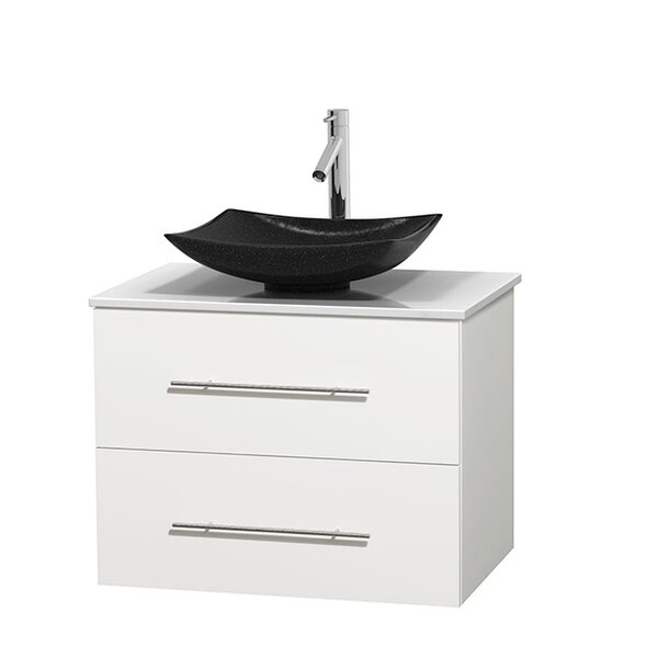 Centra 30 Single Bathroom Vanity Set by Wyndham Collection
