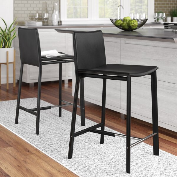 Tripp 24 Bar Stool (Set of 2) by Wade Logan