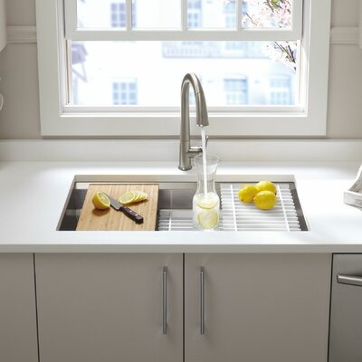 Prolific Undermount Kitchen Sink Single Bowl Accessories photo