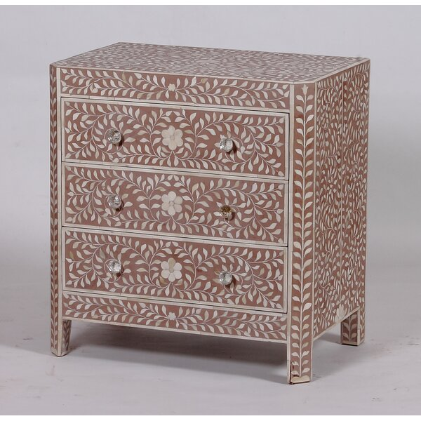 Clarkedale 3 Drawer Chest