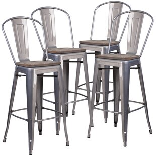 Gayle 30 Bar stool (Set of 4) by Williston Forge