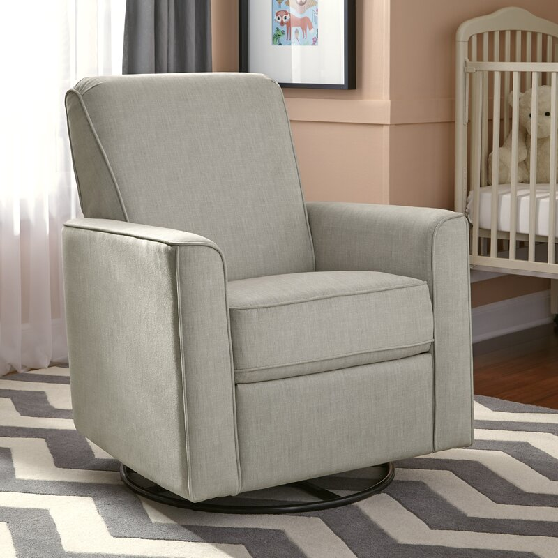 swivel recliner chairs for living room 2. Marie Swivel Reclining Glider Gliders  Ottomans Wayfair