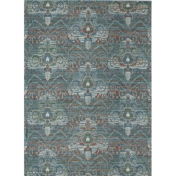 Asteria Athens Aqua Blue/Green Area Rug by Rugs America