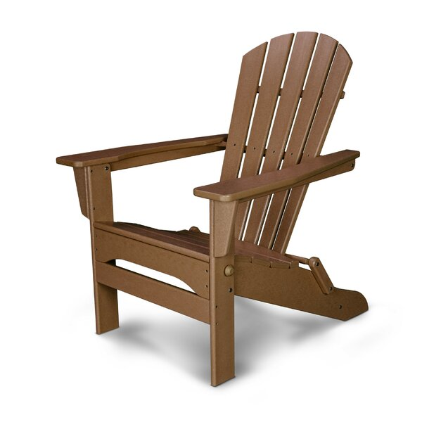 Palm Coast Plastic Folding Adirondack Chair by POLYWOOD POLYWOOD®