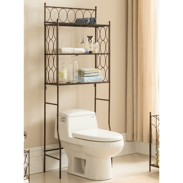 3 Tier 24 W x 64 H Over the Toilet Storage by InRoom Designs