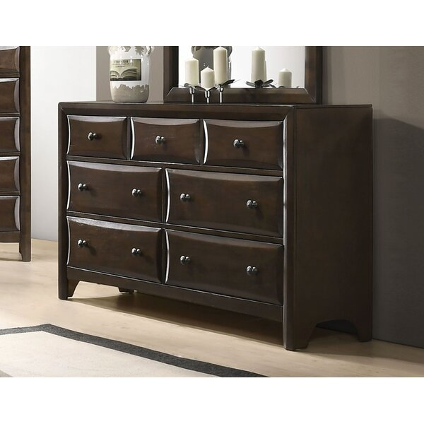 Abell 7 Drawer Double Dresser by Winston Porter