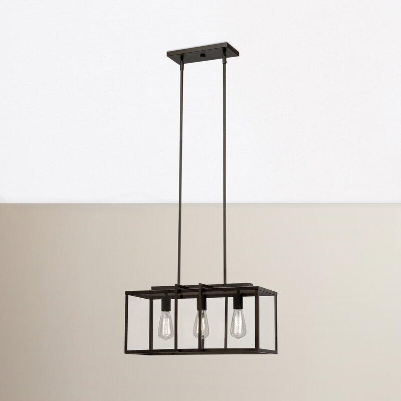 Trent Austin Design 3-Light Kitchen Island Pendant & Reviews | Wayfair