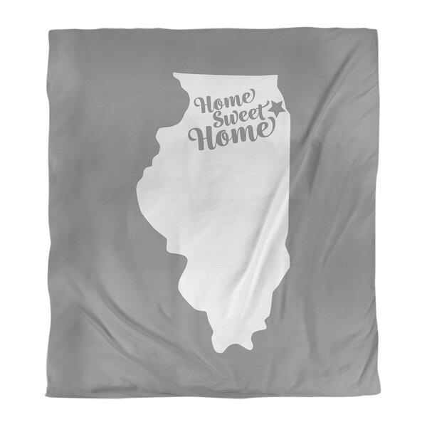 Chicago Home Sweet Single Duvet Cover